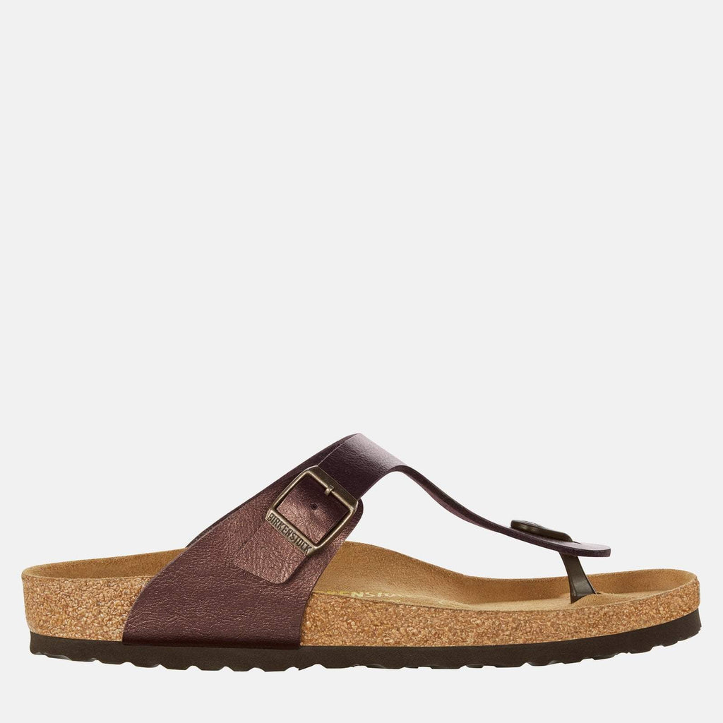Birkenstock Footwear UK 3.5 / EU 36/ US 5-5.5 / Brown Gizeh Regular Fit Graceful Toffee 845221 -  Birkenstock Ladies Brown Toe Post Summer Sandals