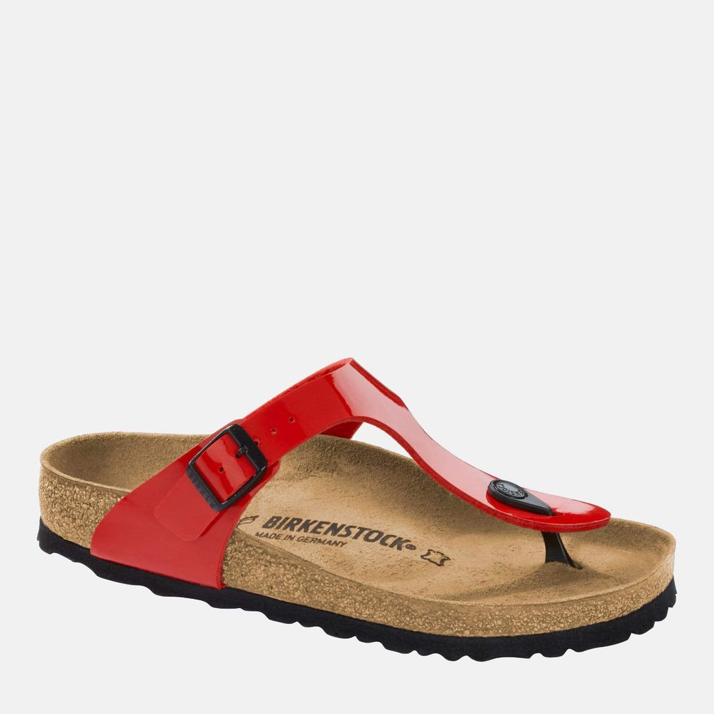 Birkenstock Footwear Gizeh Regular Fit Patent Cherry 1014310