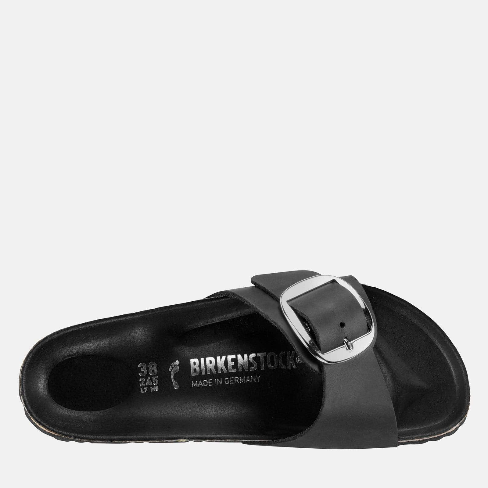 982fba5d834 Birkenstock Footwear Madrid Big Buckle Regular Fit Black 1006522.  Birkenstock Footwear Madrid Big Buckle Regular Fit Black 1006522