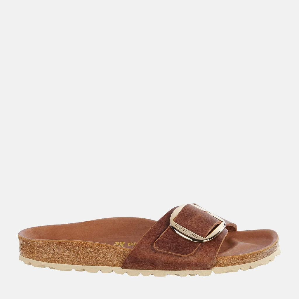 Birkenstock Footwear Madrid Big Buckle Regular Fit Cognac 1006524