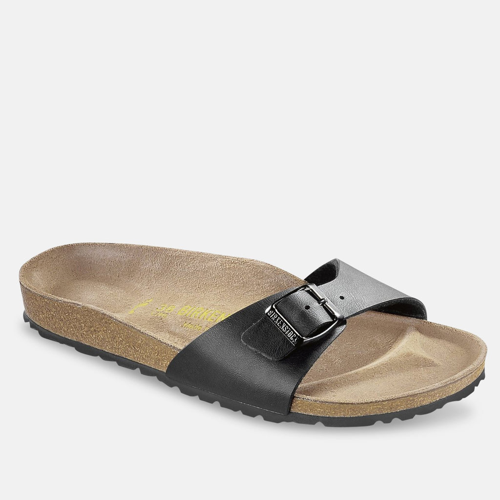 Birkenstock Footwear UK 3.5 / EU 36 / US 5-5.5 / Black Madrid Birko-Flor - Black (40793) NARROW WIDTH