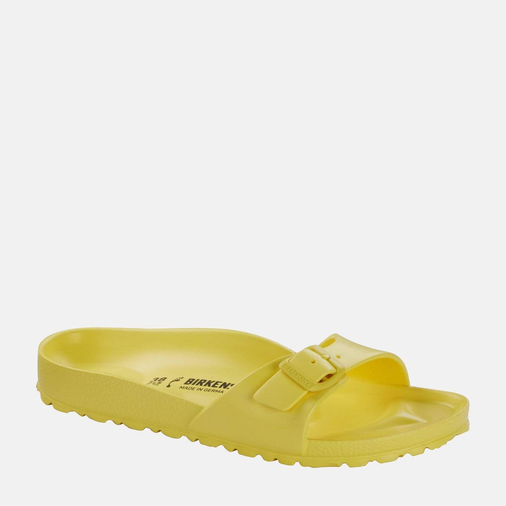 Birkenstock Footwear Madrid EVA Narrow Fit Vibrant Yellow 1014562