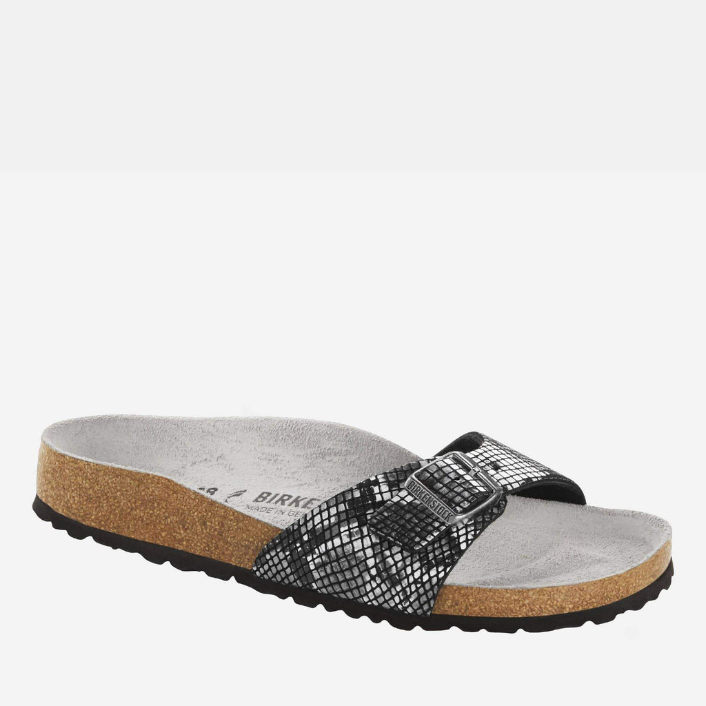 Birkenstock Footwear Madrid Regular Fit Python Black 1016896