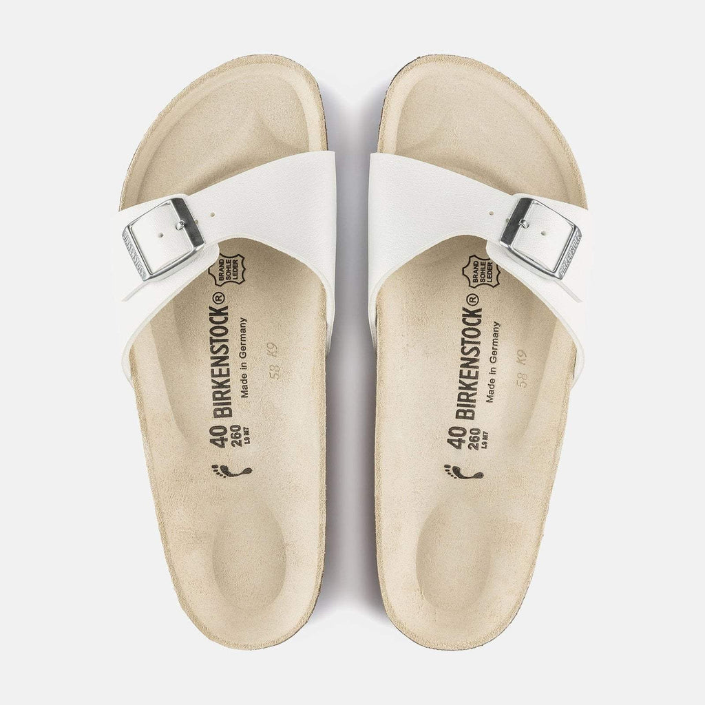 Birkenstock Footwear UK 5 / EU 38 / US 7-7.5 / White Madrid Regular Fit - White 040731