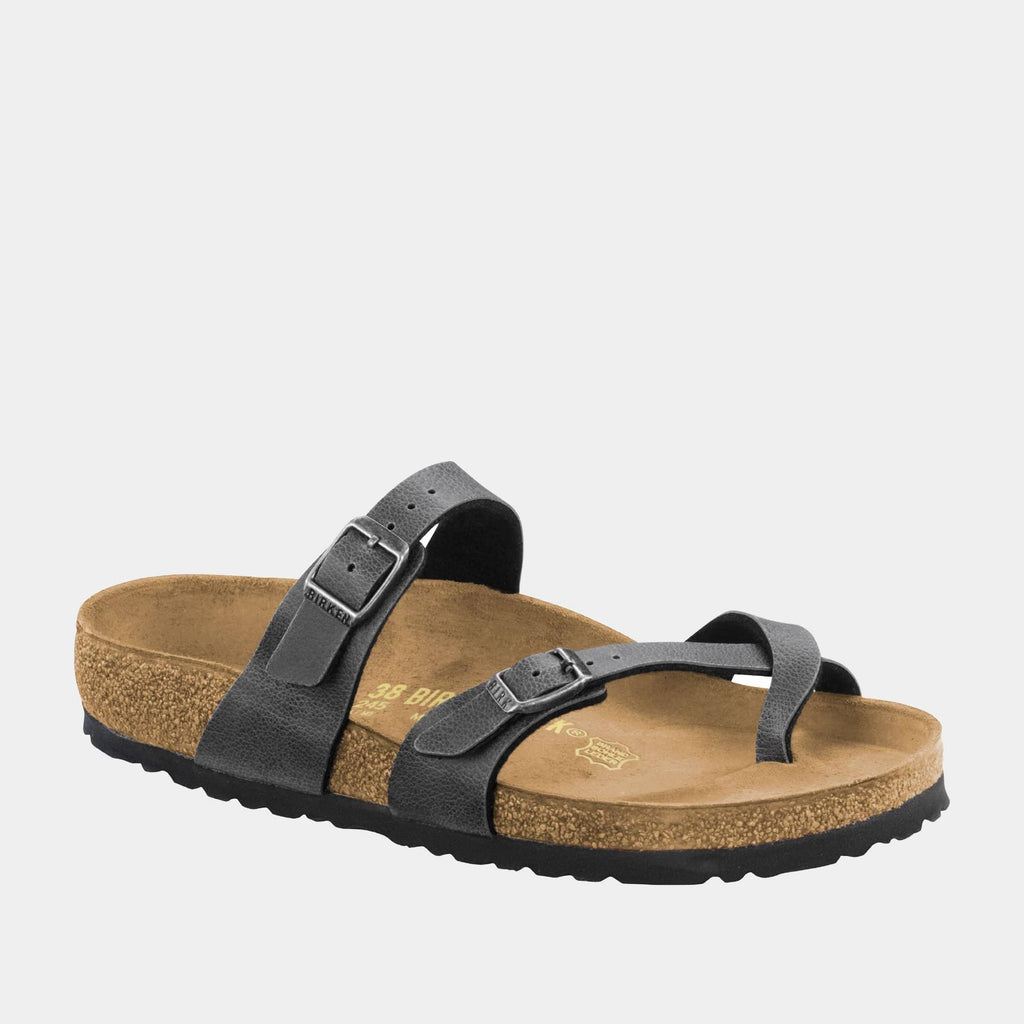 Birkenstock Footwear Mayari BF Pull Up Anthracite 1005023 regular fit