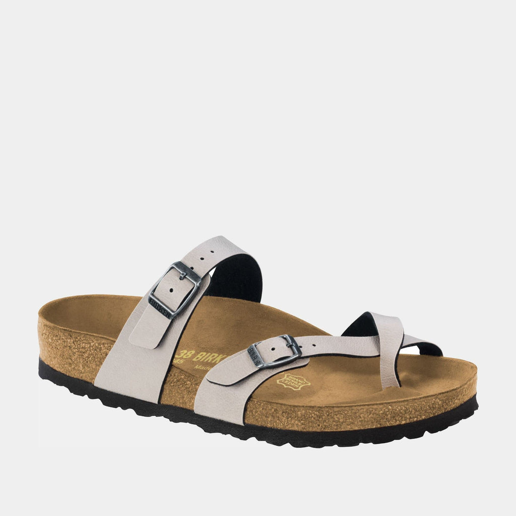 Birkenstock Footwear Mayari BF Pull Up Stone 1005056 regular fit