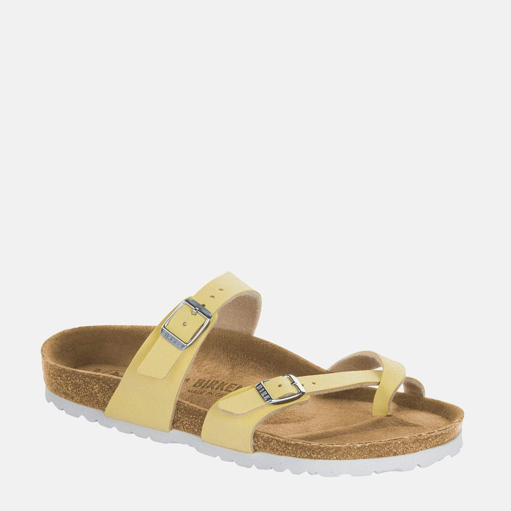 Birkenstock Footwear UK 3.5 / EU 36/ US 5-5.5 / Cream Mayari Regular Fit Vanilla 1012816 - Birkenstock Mayari Cream Loop Summer Sandals