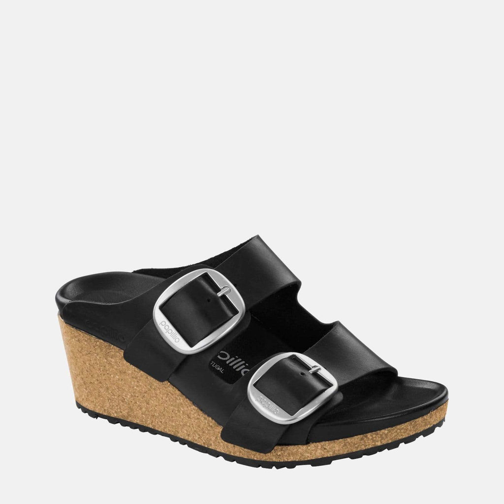 Birkenstock Footwear Nora Big Buckle Narrow Fit Black 1014833