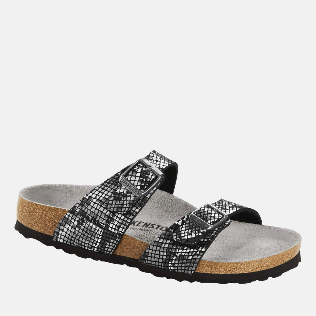 Birkenstock Footwear Sydney Regular Fit Python Black 1016892