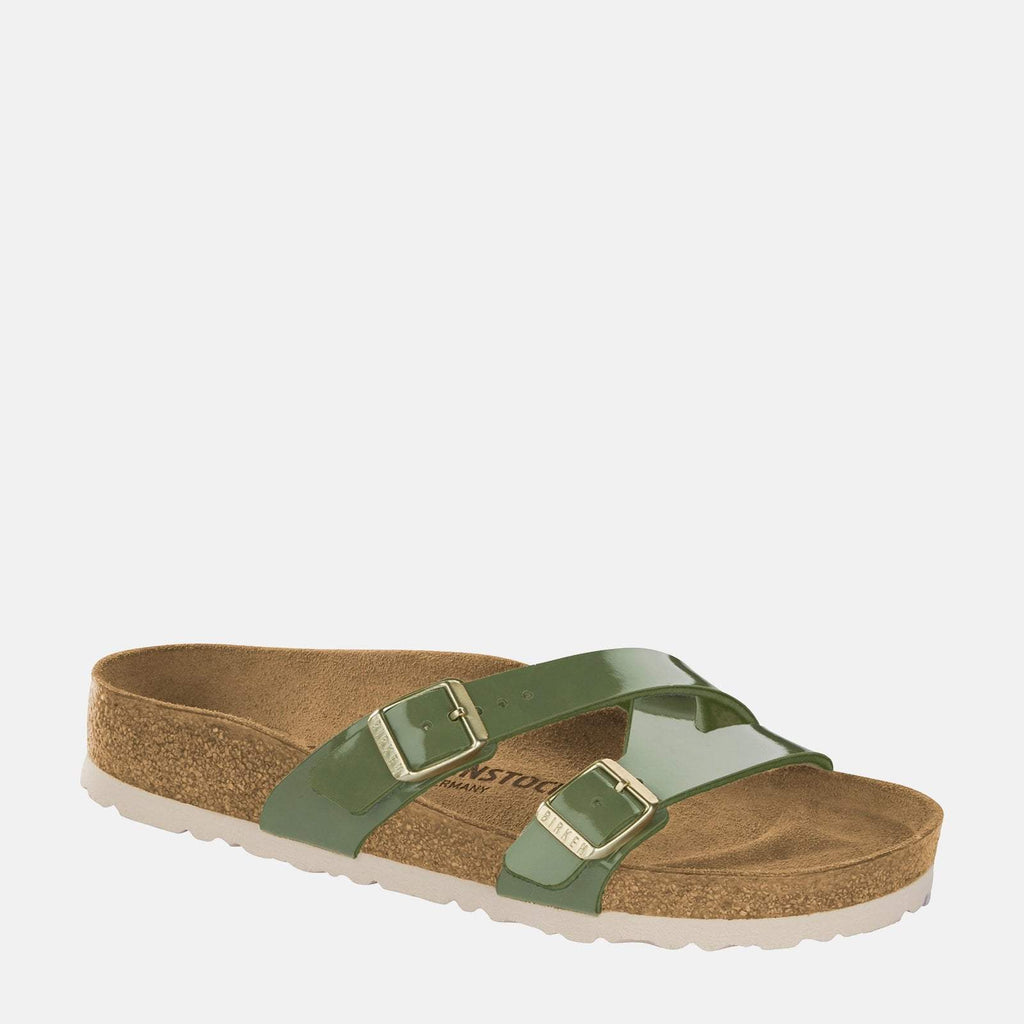 Birkenstock Footwear UK 3.5 / EU 36/ US 5-5.5 / Khaki Yao Balance Regular Fit Khaki 1013531 - Birkenstock Ladies Yao Balance Khaki Adjustable Buckle Summer Sandals