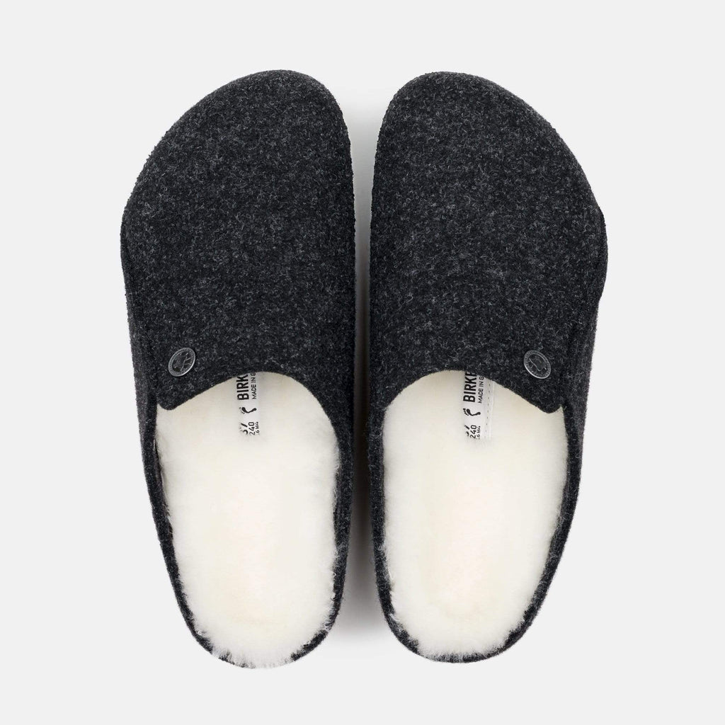 Birkenstock Footwear Zermatt Shearling Narrow Fit Anthracite 1015084
