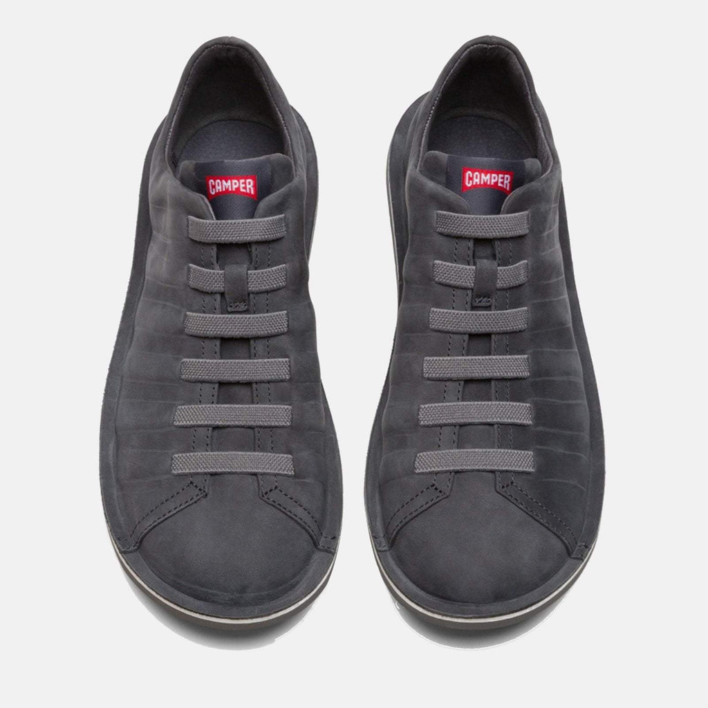 Camper Footwear UK 7 / EU 41 / US 8 / Charcoal Beetle 18751 070 Charcoal - Camper Men's Flat Casual Shoe