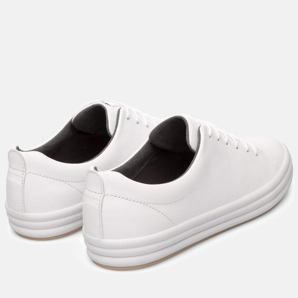 Camper Footwear UK 4/ EU 37 / US 7 / White Hoops K200298 004 White Natural - Camper Women's Trainers