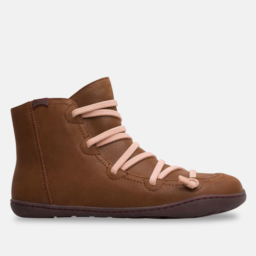 Camper Footwear UK 4 / EU 37 / US 7 / Medium Brown Ladies Medium Brown Peu Boot - 46104-097