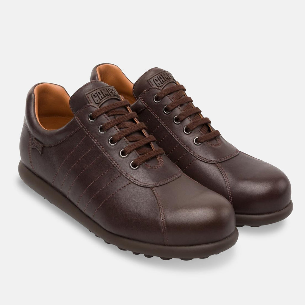 Camper Footwear UK 7 / EU 41 / US 8 / Dark Brown Men's Dark Brown Pelotas (16002-204)