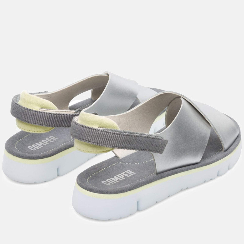 Camper Footwear UK 4/ EU 37 / US 7 / Medium Gray Oruga K200157 018 Medium Gray - Camper Women's Shoes
