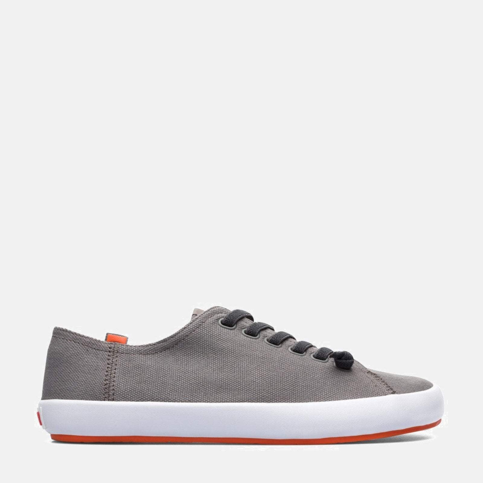 Camper Peu 36411 Medium Grey Mens Leather Trainers Shoes