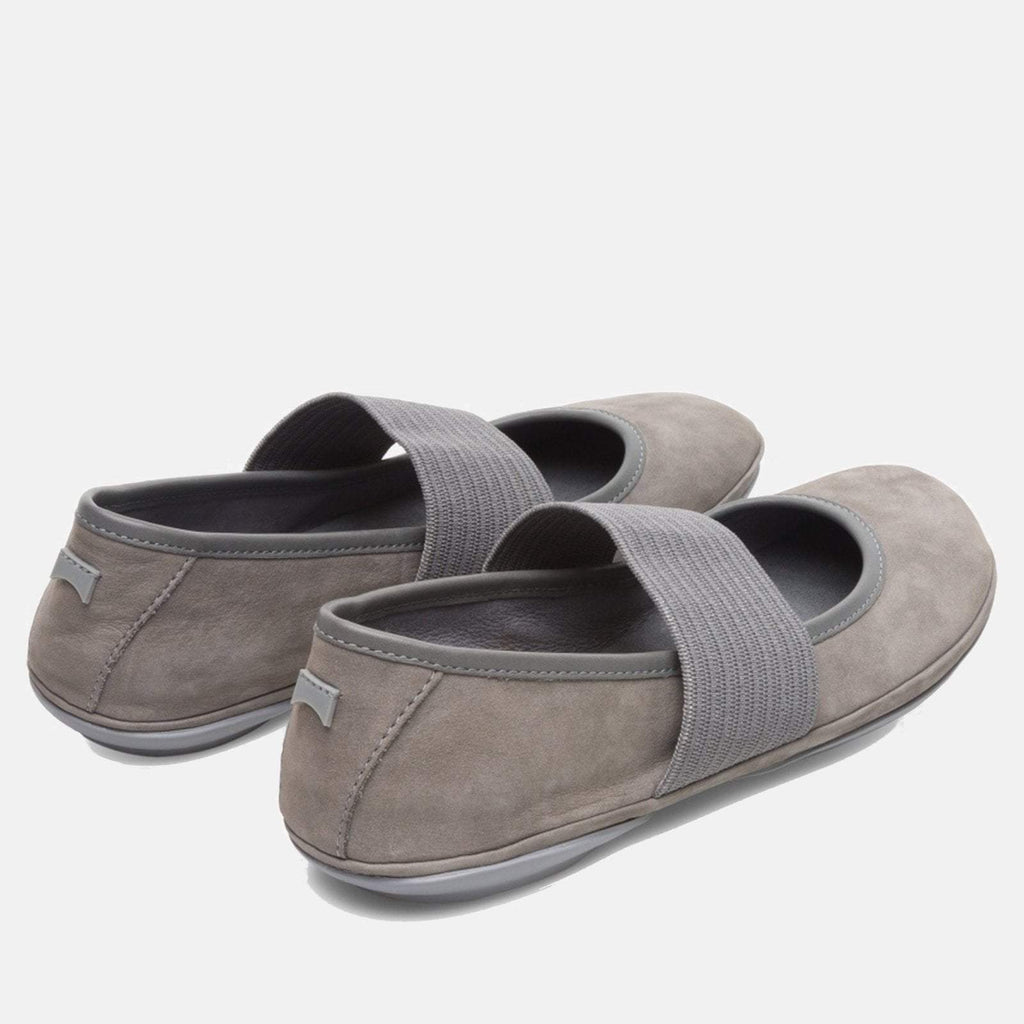 Camper Footwear UK 4/ EU 37 / US 7 / Medium Gray Right Nina 21595 130 Medium Gray  - Camper Women's Ballerina Shoe