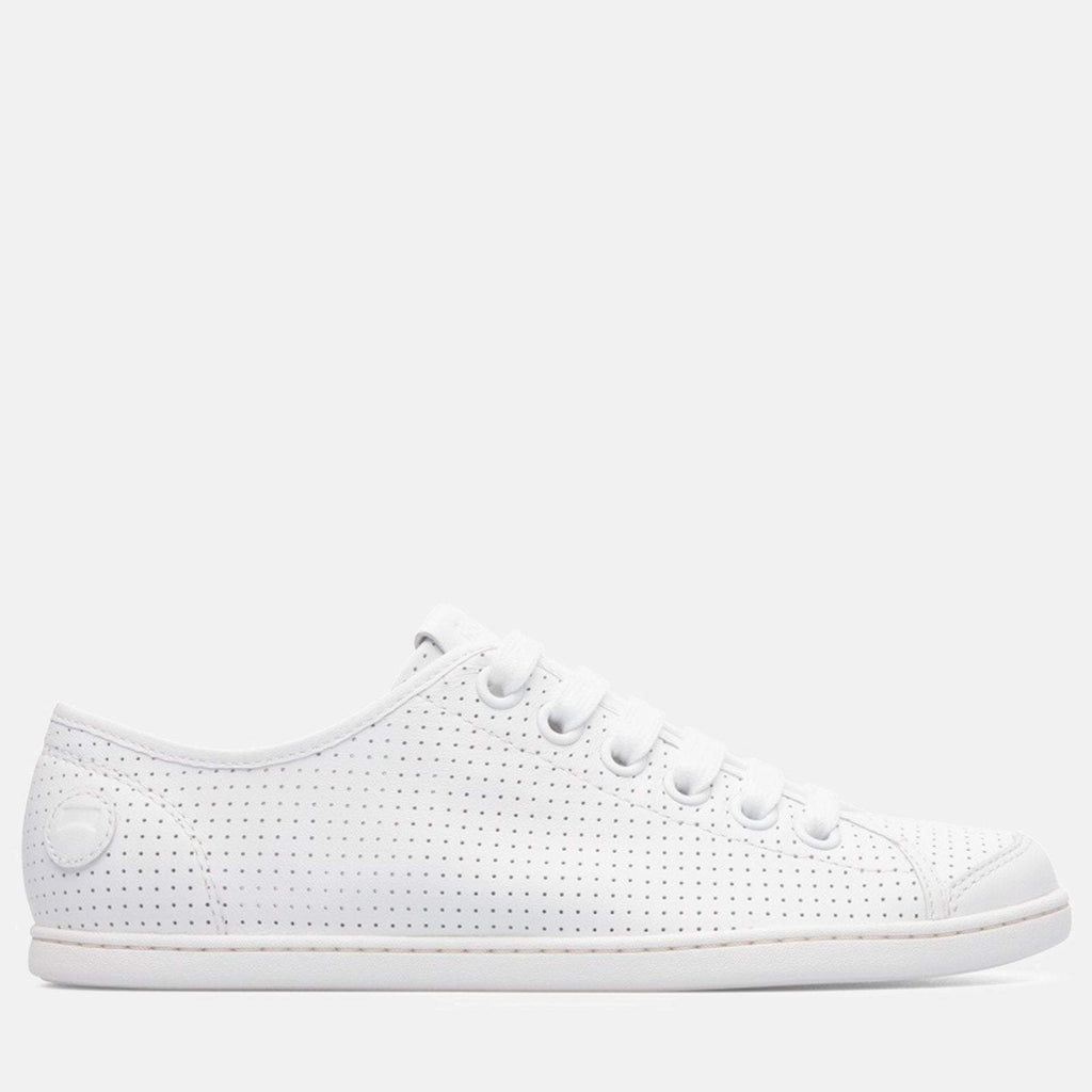 Camper Footwear UK 4/ EU 37 / US 7 / White Uno 21815 046 White Natural - Camper Women's Trainers