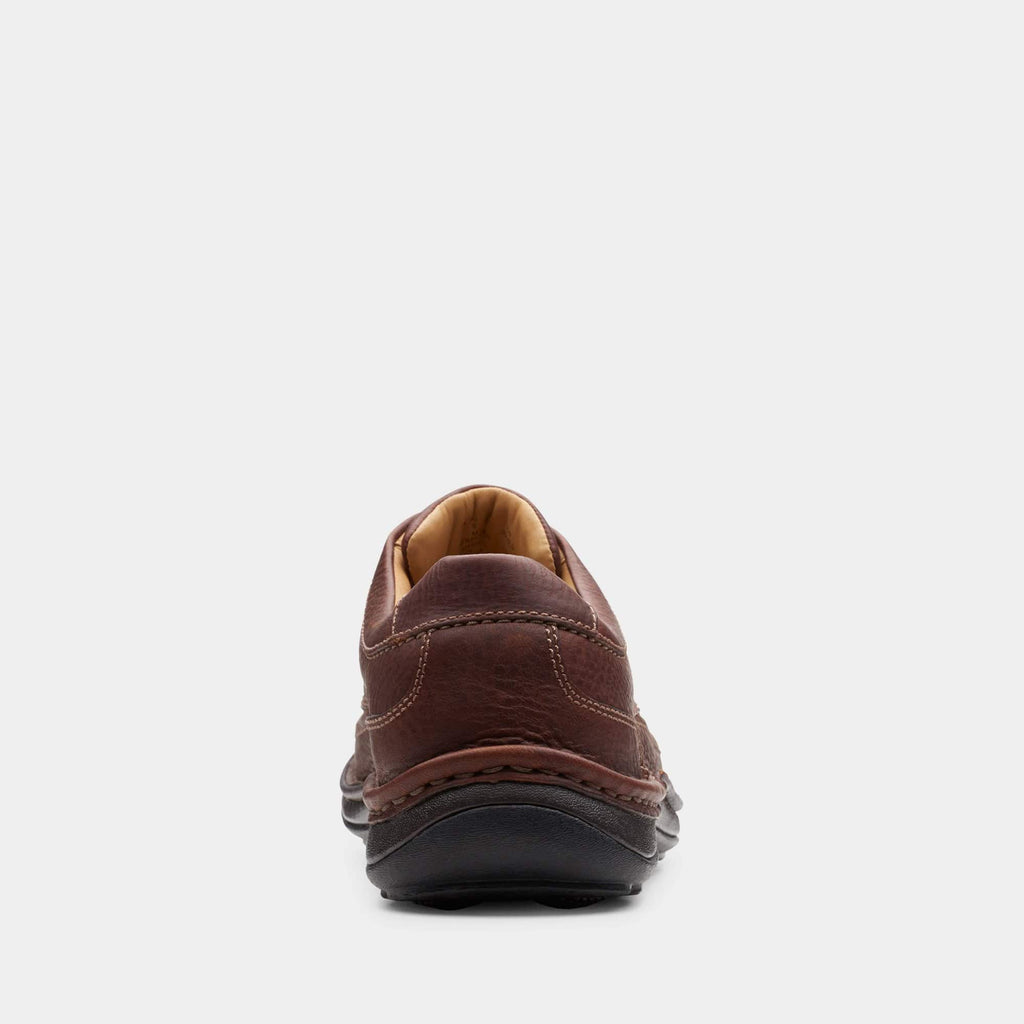 Clarks Footwear 20339005 Nature Three Mahogany Leather