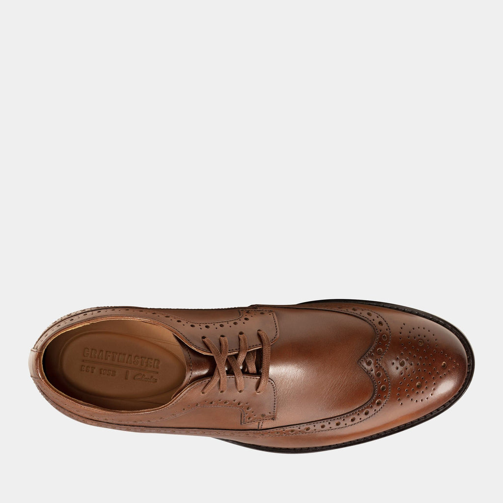 Clarks Footwear 26143813 Ronnie Limit British Tan