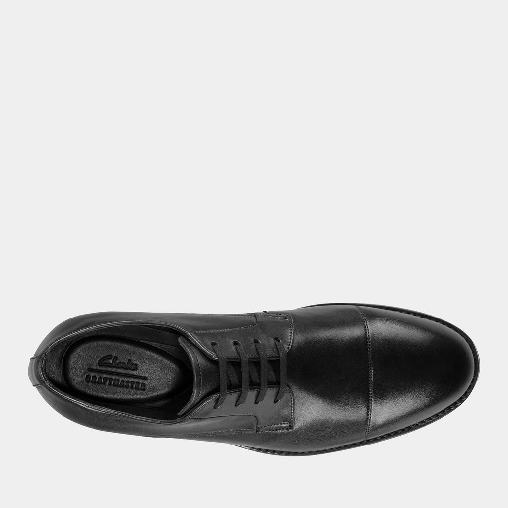 Clarks Footwear 26148025 Ronnie Cap Black