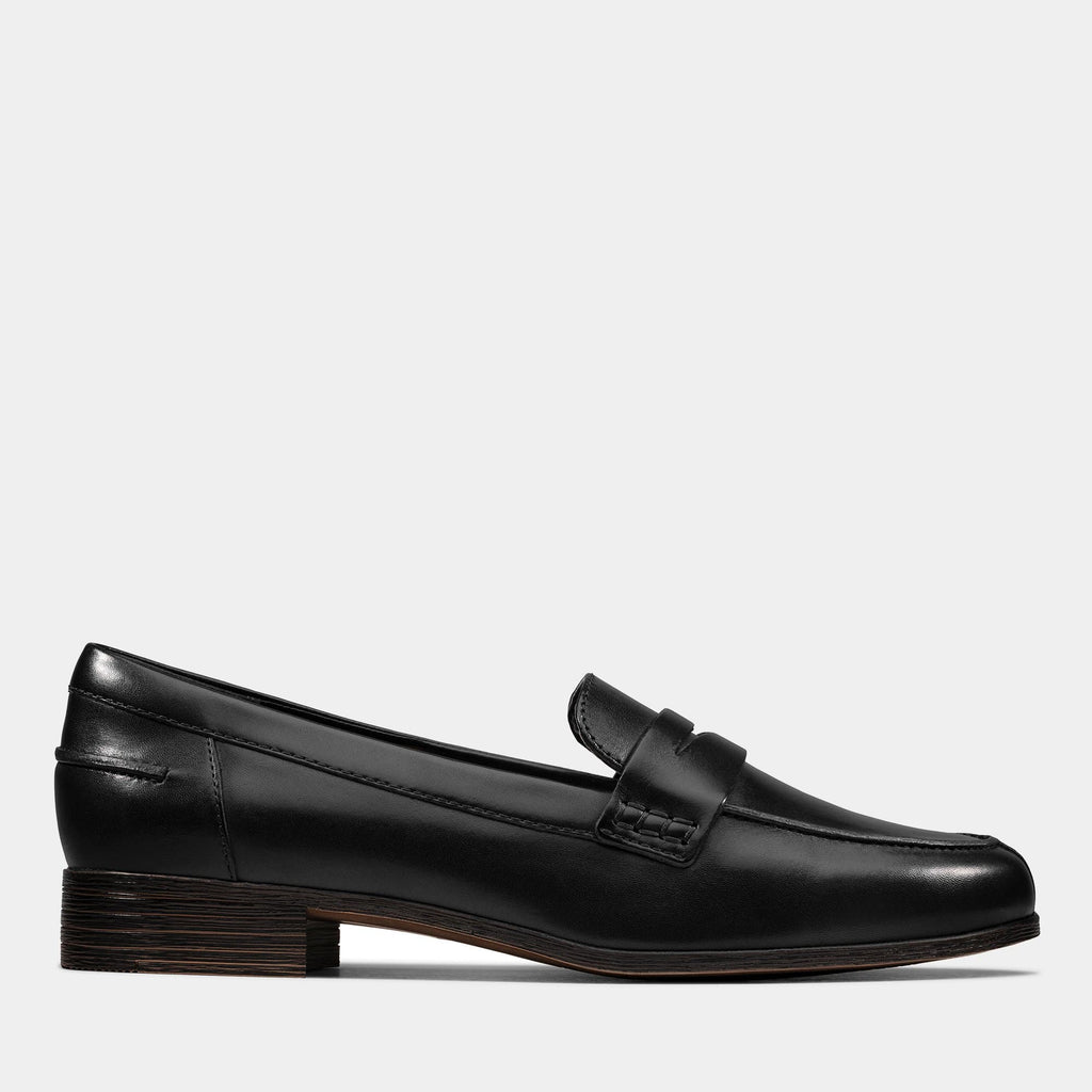 Clarks Footwear Hamble Loafer 26147739 Black