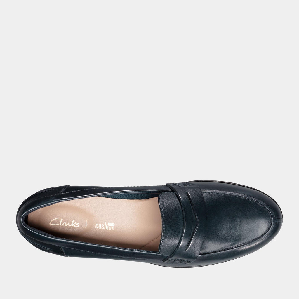 Clarks Footwear Hamble Loafer 26150199 Navy