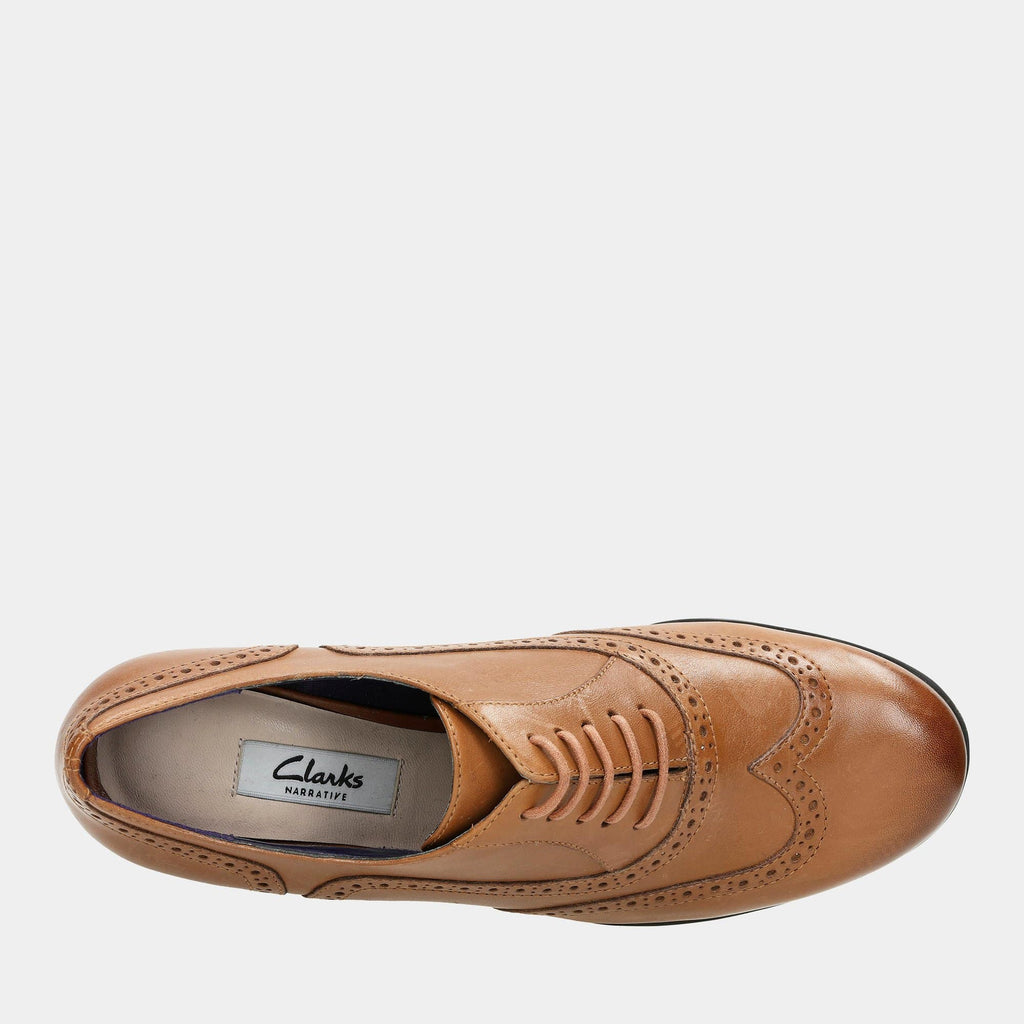 Clarks Footwear Hamble Oak 20350674 Dark Tan