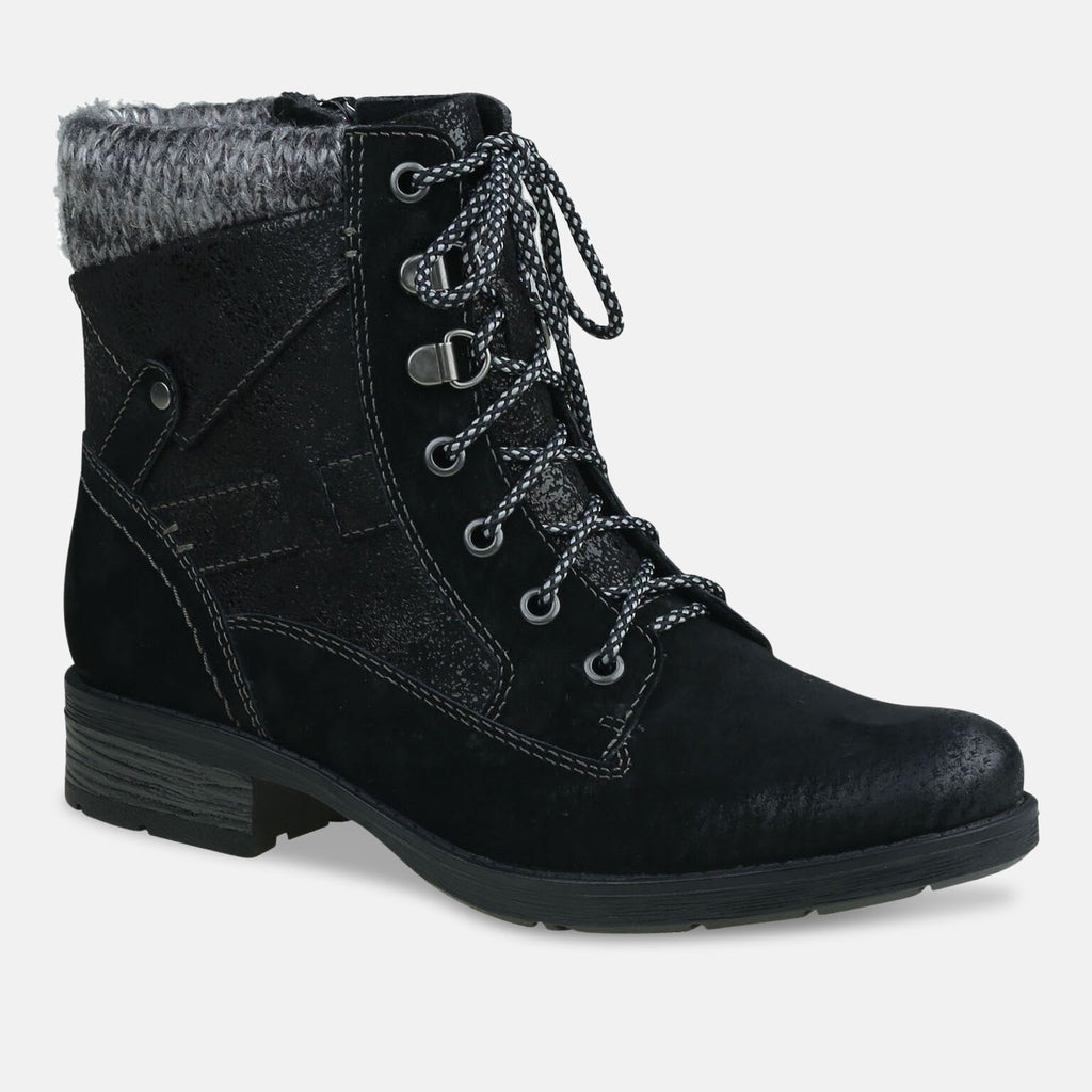 Earth Spirit Footwear UK 2 / Black Ladies San Diego Black Ankle Boot