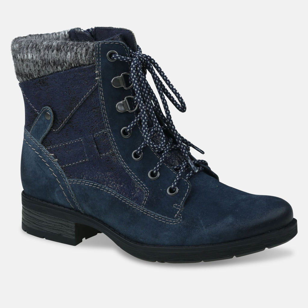 Earth Spirit Footwear UK 2 / EU 35 / US 4 / Navy Ladies San Diego Navy Ankle Boot