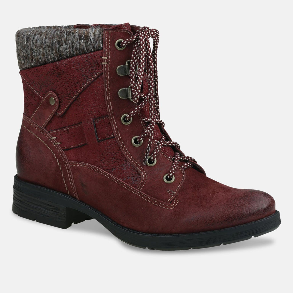 Earth Spirit Footwear UK 2 / EU 35 / US 4 / Scarlet Ladies San Diego Scarlet Ankle Boot