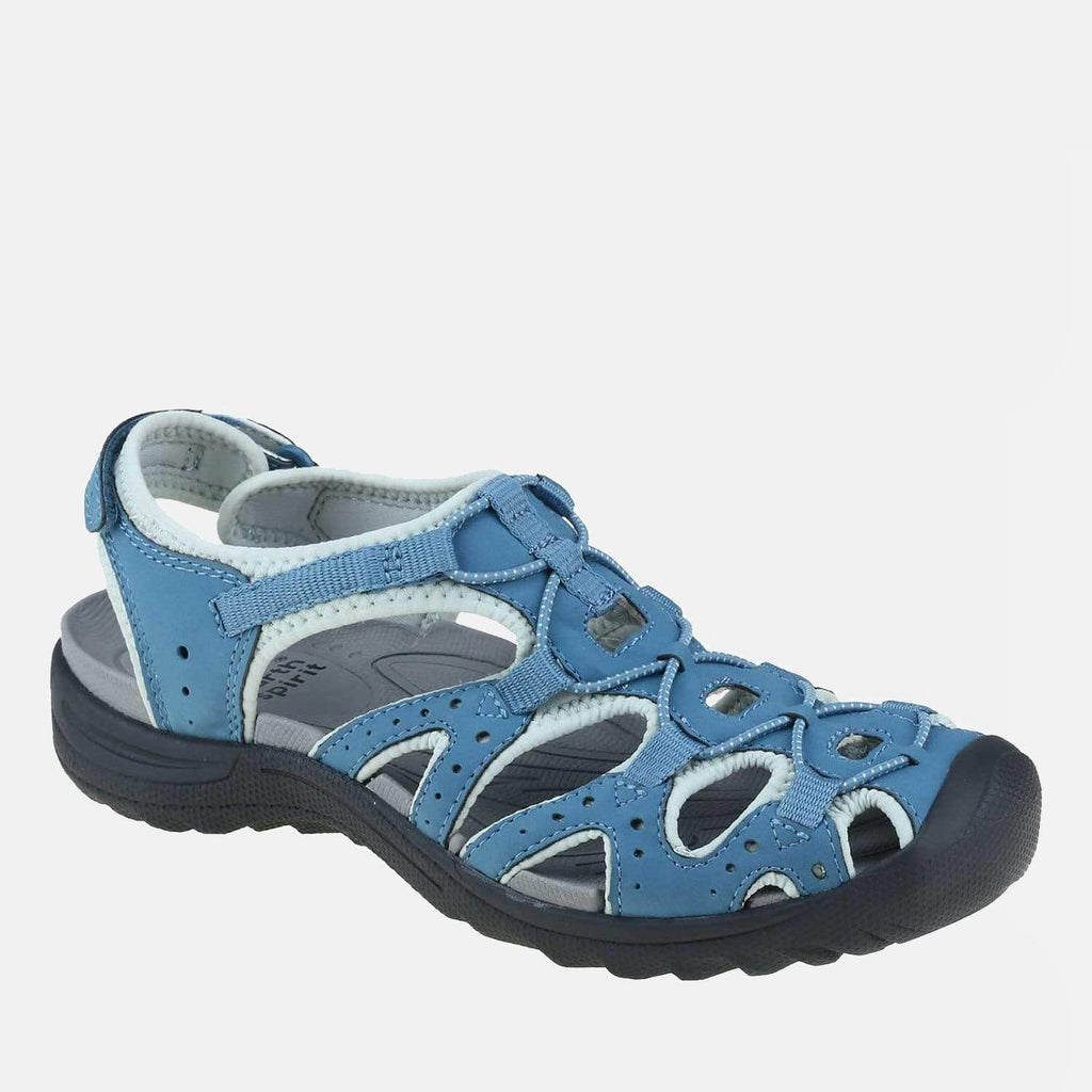 Earth Spirit Footwear Midway Blue/Aqua