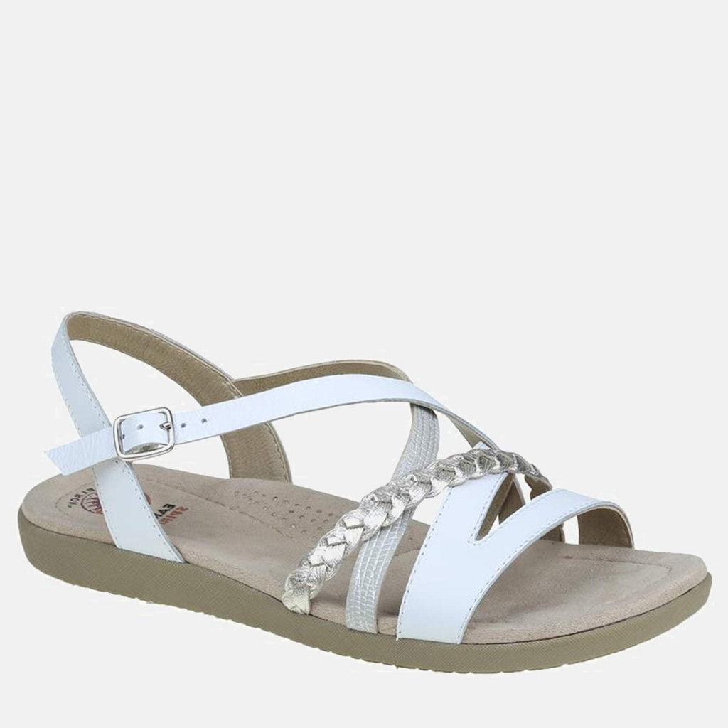 Earth Spirit Footwear UK 3 / EU 36 / US 5 / White Wyatt White/Metallic