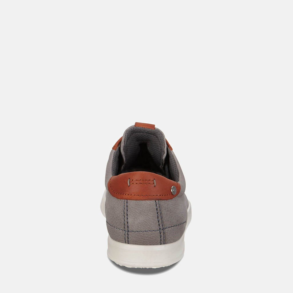 Ecco Footwear UK 7.5 / EU 41 / US 7-7.5 / Grey Collin 2.0 536224 58267 Warm Grey/Cognac -  Ecco Men's Grey Loafer Trainer Style Leather Shoes