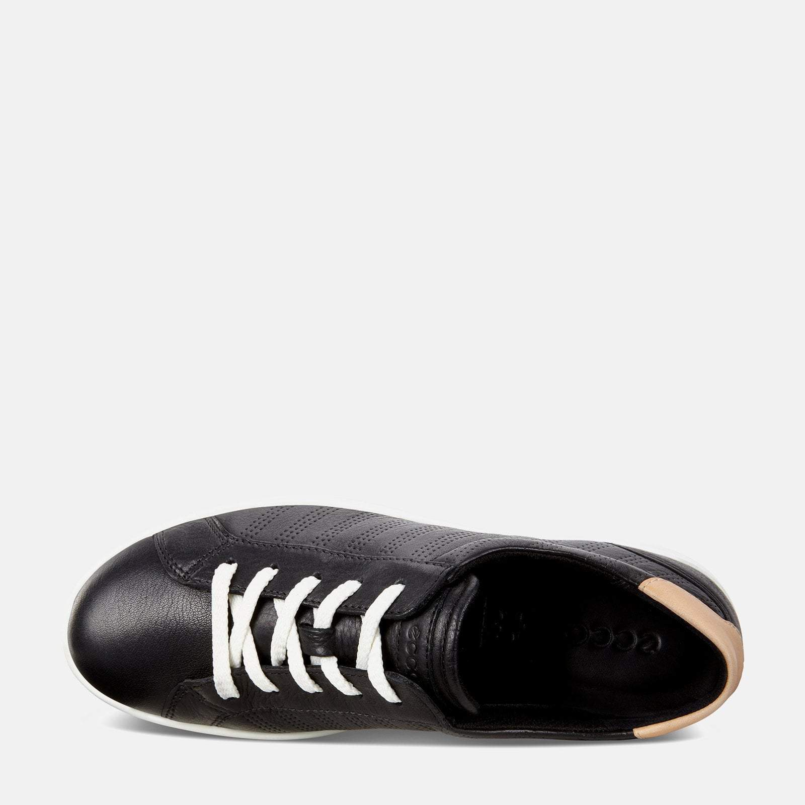 soft leather trainers ladies