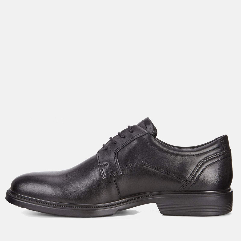 Ecco Footwear UK 6.5-7 / EU 40 / US 6-6.5 / Black Lisbon 622104 01001 Black- Ecco Men's Derby Formal Lace Up Black Leather Shoes