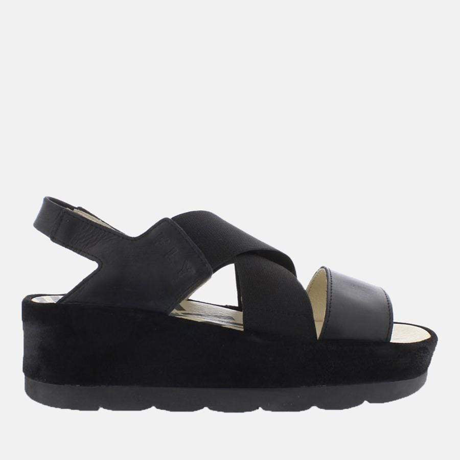 Fly London Footwear Bime Black/Black Rug/Suede