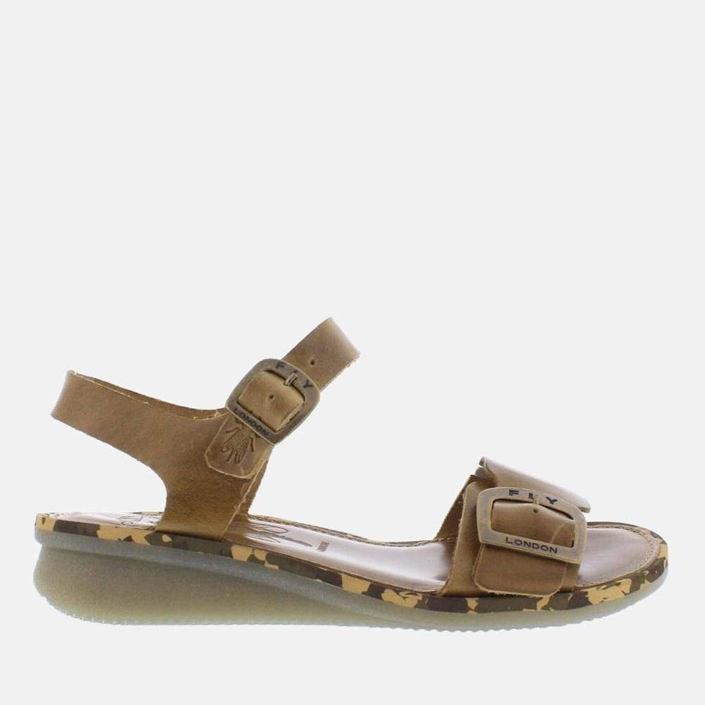 Fly London Footwear Comb Camel Bridle