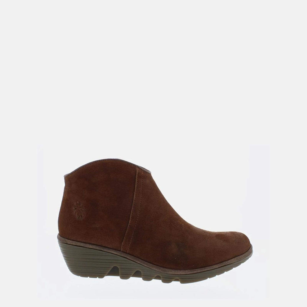 Fly London Footwear Pevo Cognac/Dark Brown Ranch/Janeda
