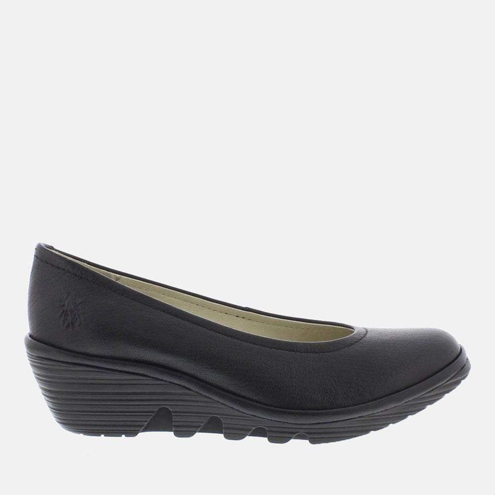 Fly London Footwear Pump Black Mousse