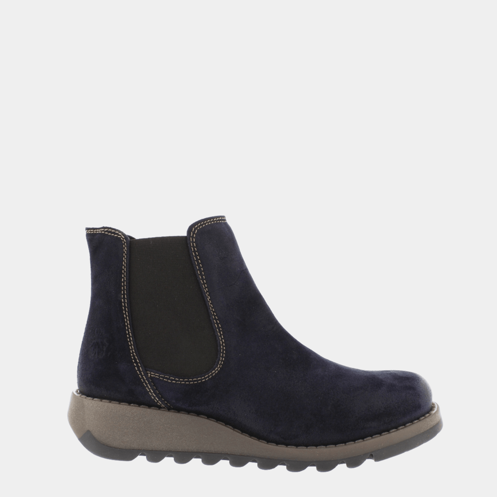 Fly London Footwear Salv Navy Oil Suede P143195047