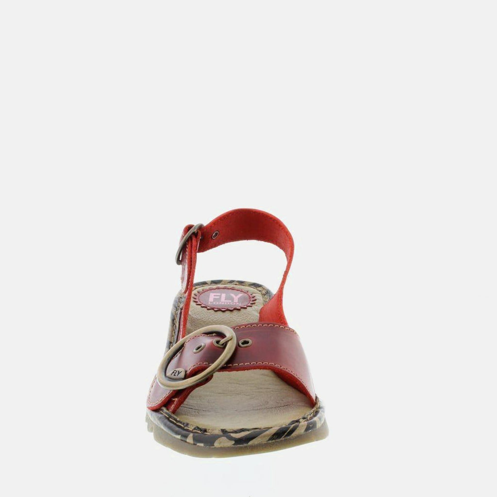 Fly London Footwear UK 3 / EU 36 / US 5.5-6 / Red Tram - Red Bridle