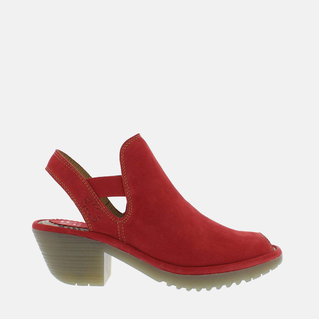 Fly London Footwear UK 3 / EU 36 / US 5.5-6 / Red Wari Lipstick Red Cupido