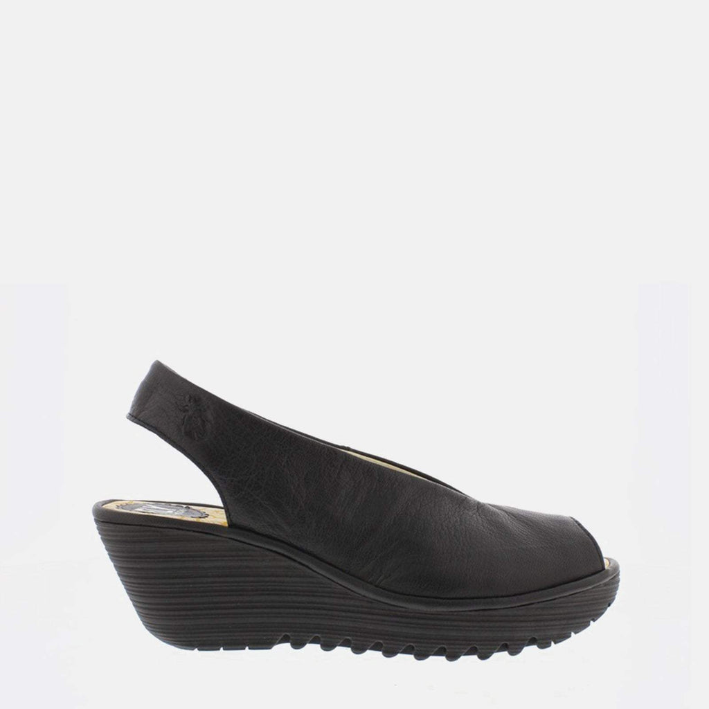 Fly London Footwear UK 3 / EU 36 / US 5.5-6 / Black Yane Black Mousse