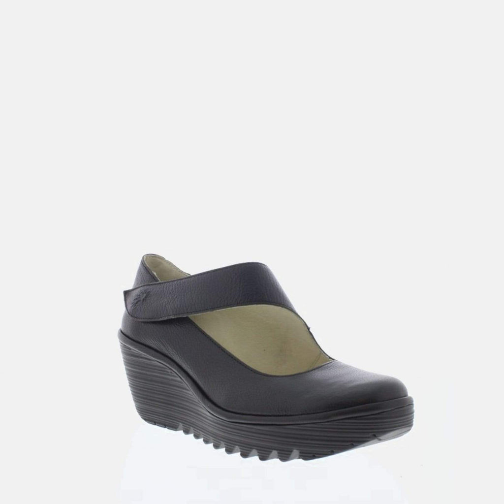 Fly London Footwear Yasi Black Mousse