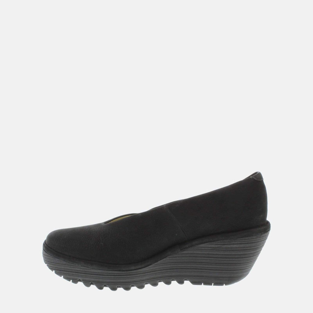 Fly London Footwear Yaz Black Cupido