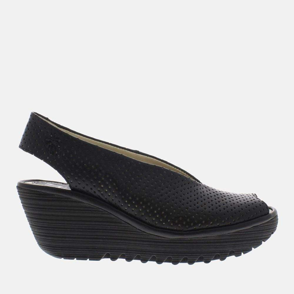 Fly London Footwear Yazu Black Mousse