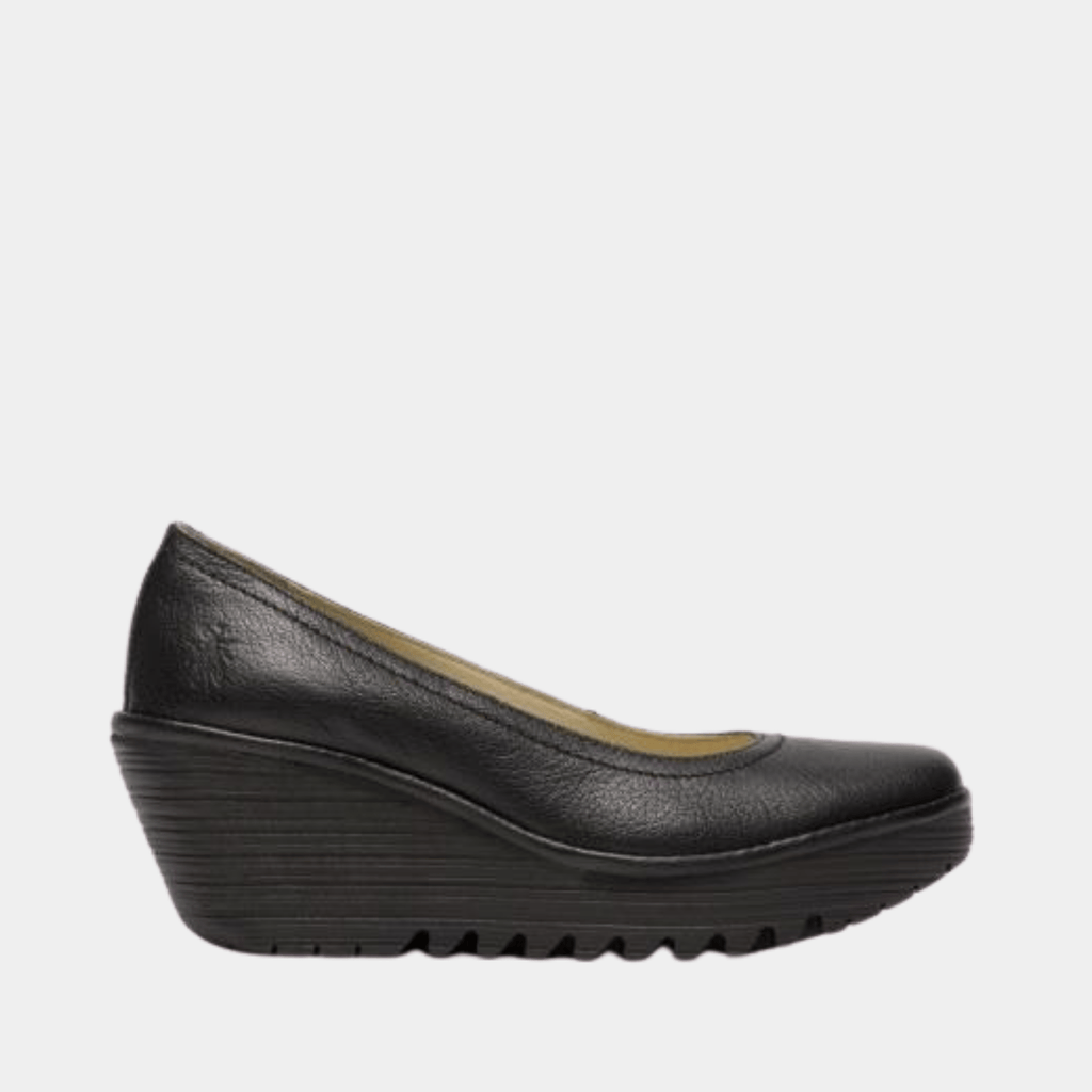 Fly London Footwear Yoni Black Mousse