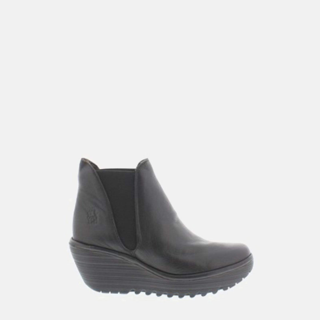 Fly London Footwear Yoss Black Mousse